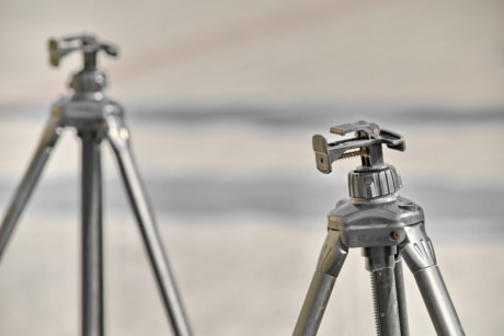 tripod, technology, precision, equipment, analogue, old, industry, metal, black, detail