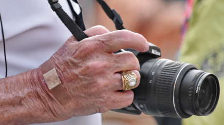 camera, gold, photographer, ring, zoom, man, hand, people, equipment, outdoors