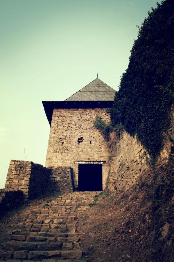 architecture, Création de, forteresse, antique, Château, fortification, vieux, à l'extérieur, paysage, lumière