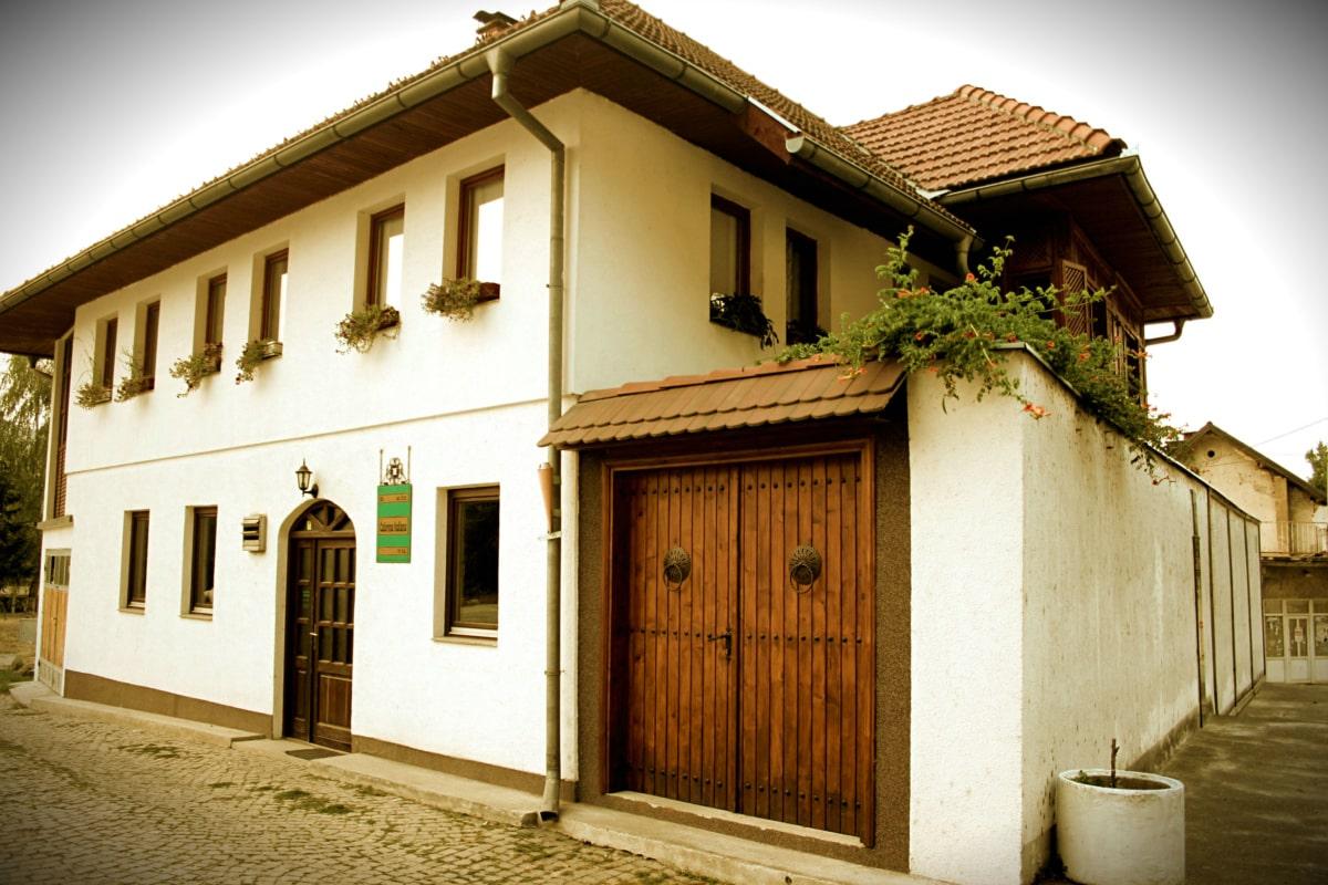 Bosnia-Hercegovina, historiske, huset, orientalsk, tyrkisk, hjem, arkitektur, bolig, eiendom, gate