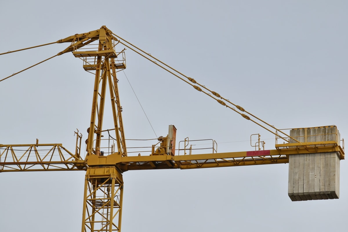 construction, industrial, steel, heavy, industry, device, crane, high, machinery, machine
