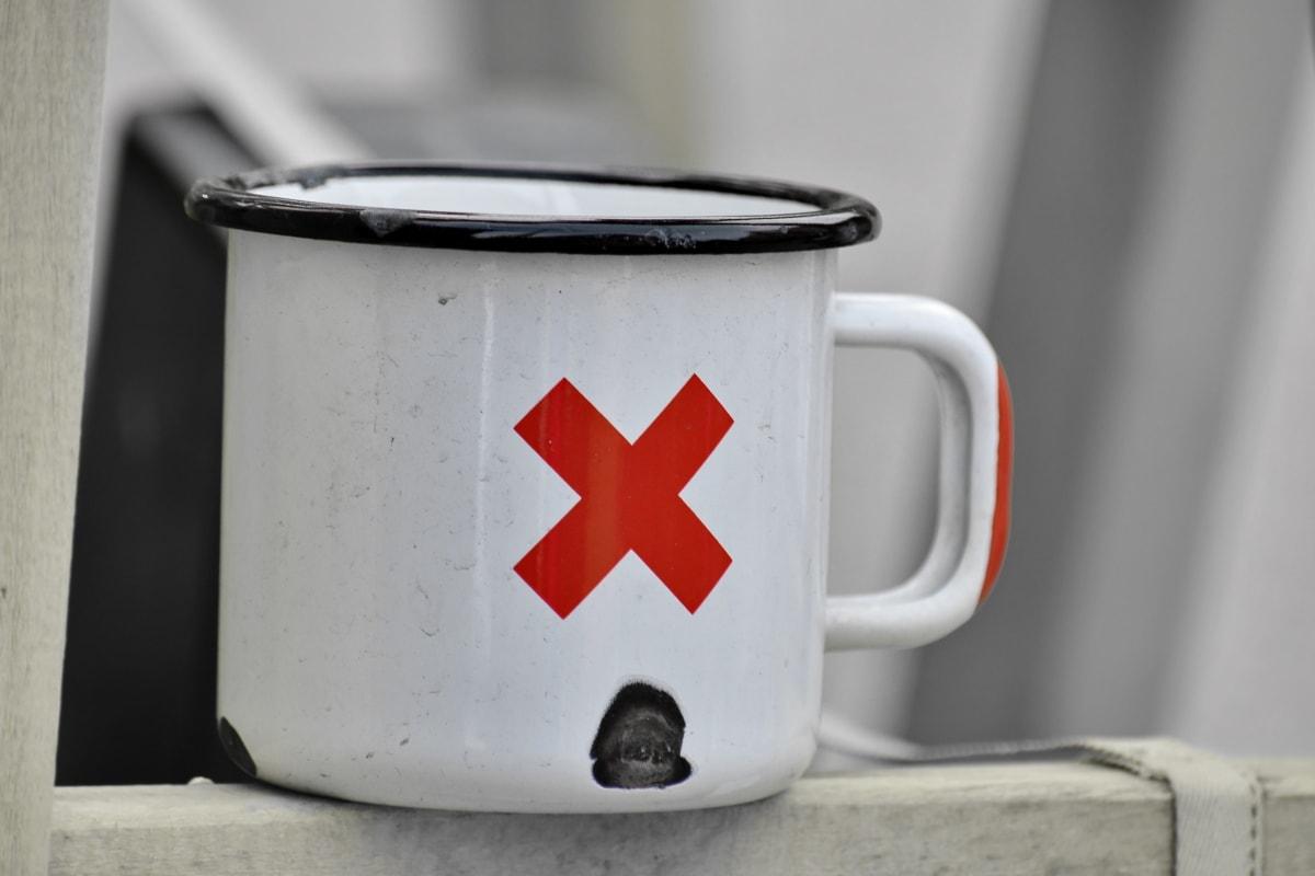 crno i bijelo, metal, krigla, znak, mrtva priroda, kup, čaj, doručak, piće, napitak
