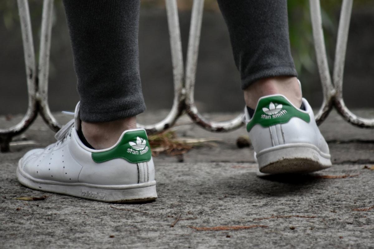 movimento, scarpe da ginnastica, a piedi, piedi, Via, scarpe, copertura, Calzature, moda, persone