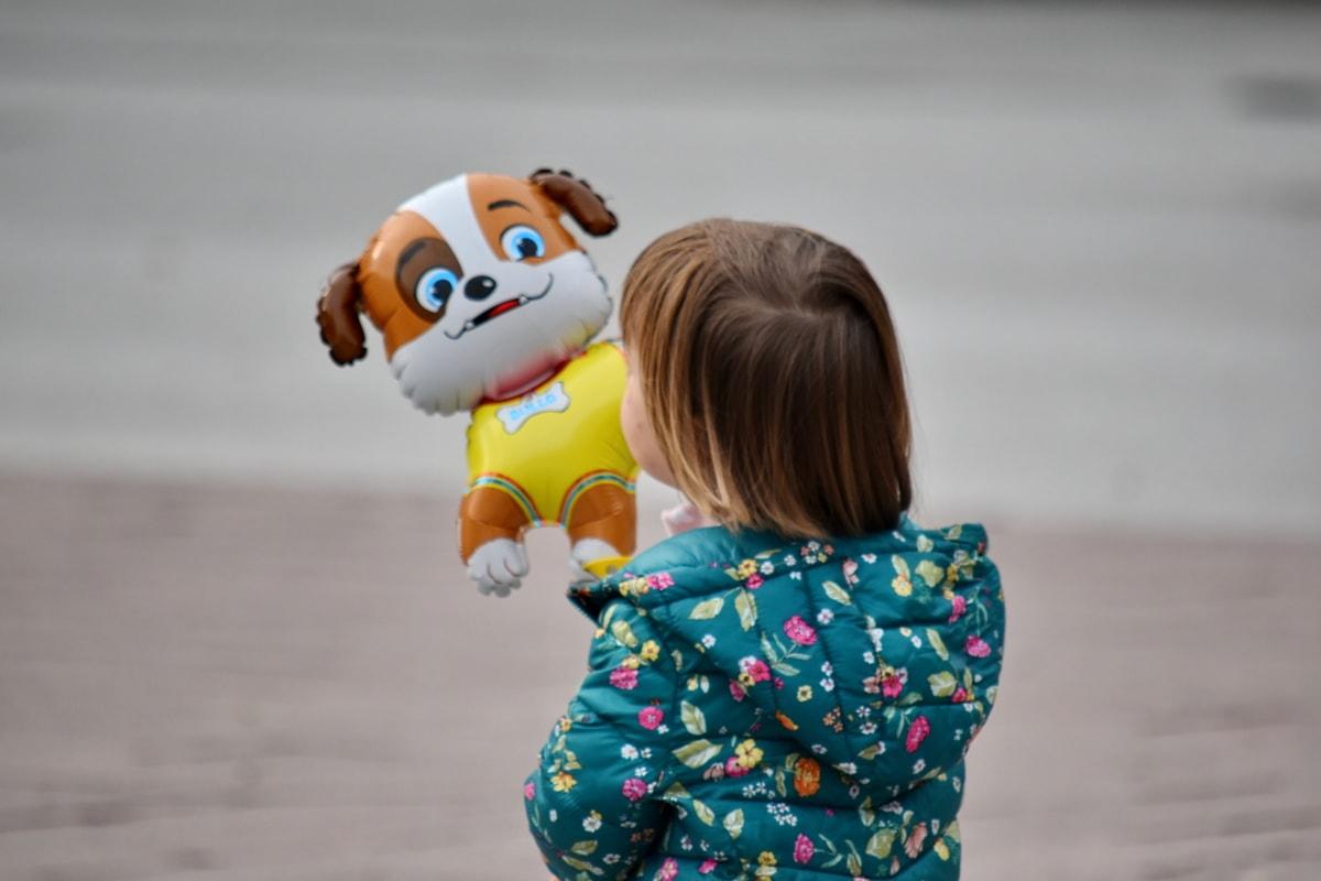 balon, copilărie, fericit, heliu, mascota, Jucarii, copil, distractiv, jucărie, fată