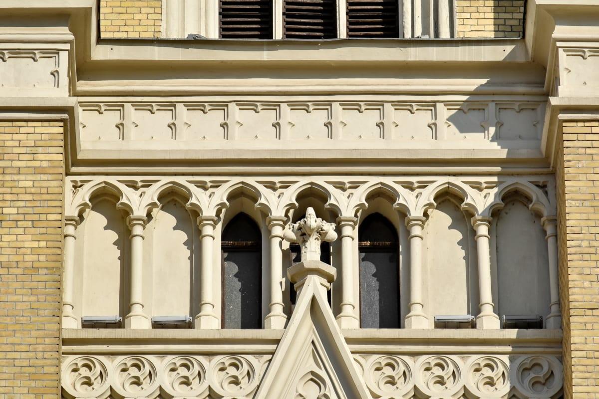 style architectural, Cathédrale, catholique, Christianisme, gothique, à la main, façade, Création de, architecture, Église