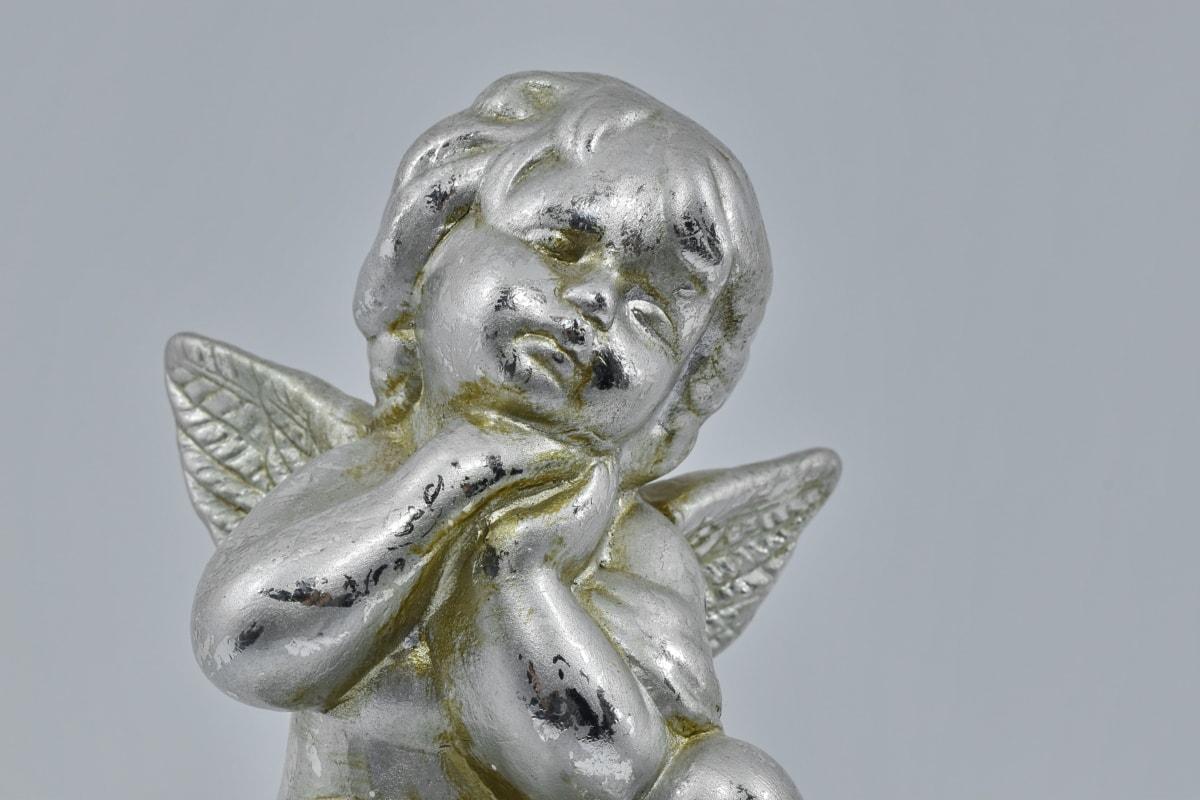 Άγγελος, ειδώλιο, αντικείμενο, προσευχή, θρησκεία, γλυπτική, άγαλμα, τέχνη, Πνευματικότητα, καλλιτεχνική