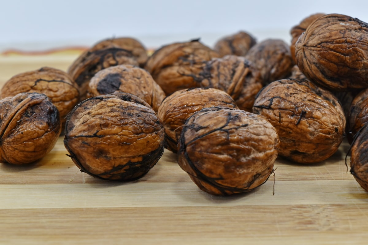 walnut, brown, button, delicious, diet, dietary, dry, eat, food, fruit
