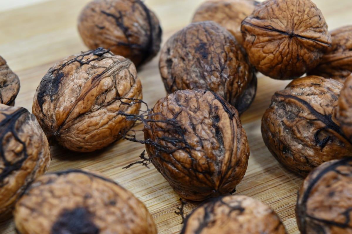 pähkinänkuoressa, pähkinä, ruskea, herkullinen, ruokavalio, ruokavalion, kuiva, syödä, Ruoka, hedelmät