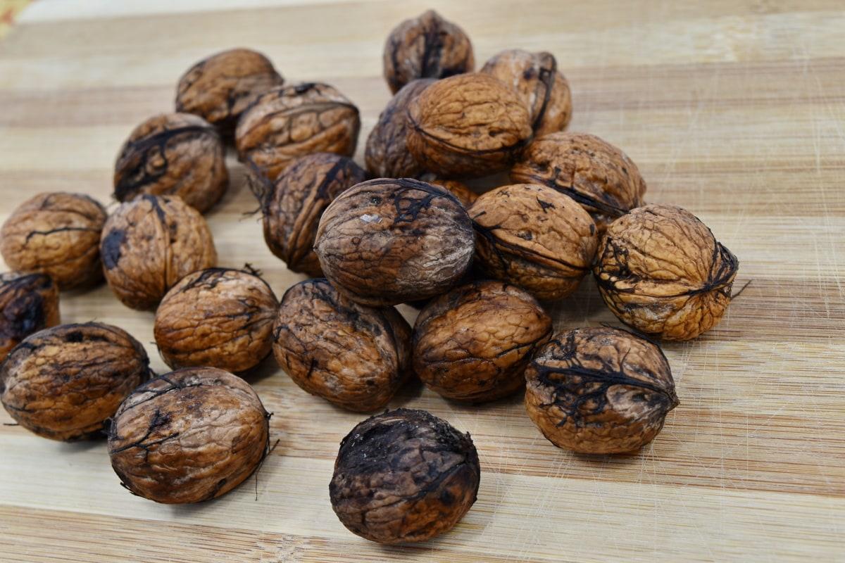 group, walnut, brown, wood, seed, snack, food, fruit, health, nutrition