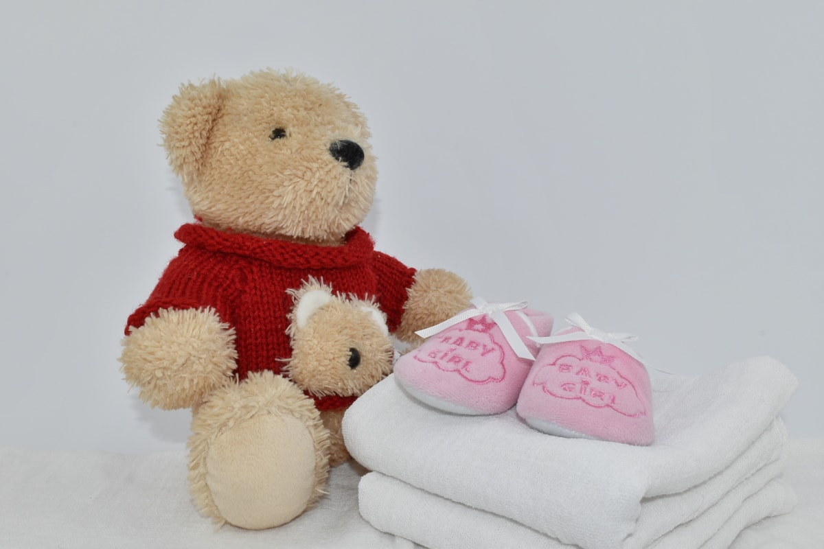baby, cotton, diaper, newborn, teddy bear toy, towel, cute, gift, toy, fur