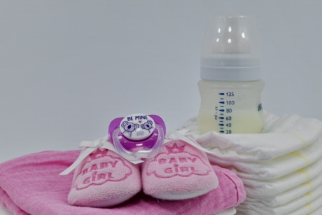 care, diaper, newborn, purity, shoes, white, pink, health, plastic, healthcare