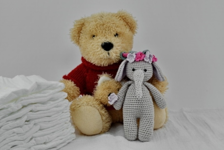 diaper, dolls, photo studio, teddy bear toy, soft, toy, gift, bear, cute, baby