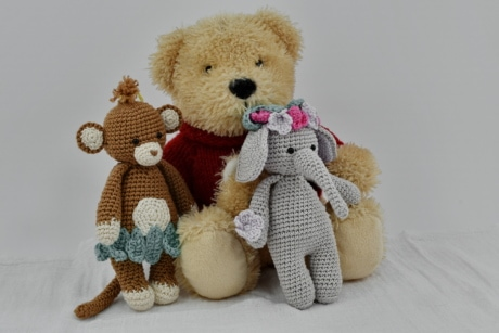 teddy bear toy, three, toys, toyshop, bear, cute, gift, toy, doll, winter