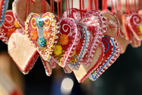 candy, romance, traditional, decoration, celebration, sugar, heart, love, gift, color