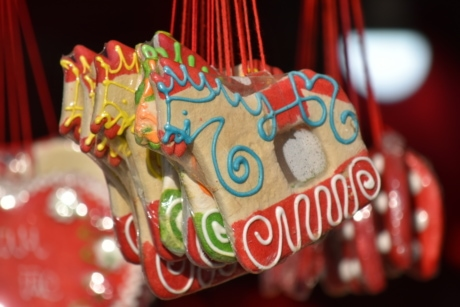 christmas, cookies, gingerbread, handmade, horses, celebration, decoration, shining, traditional, hanging