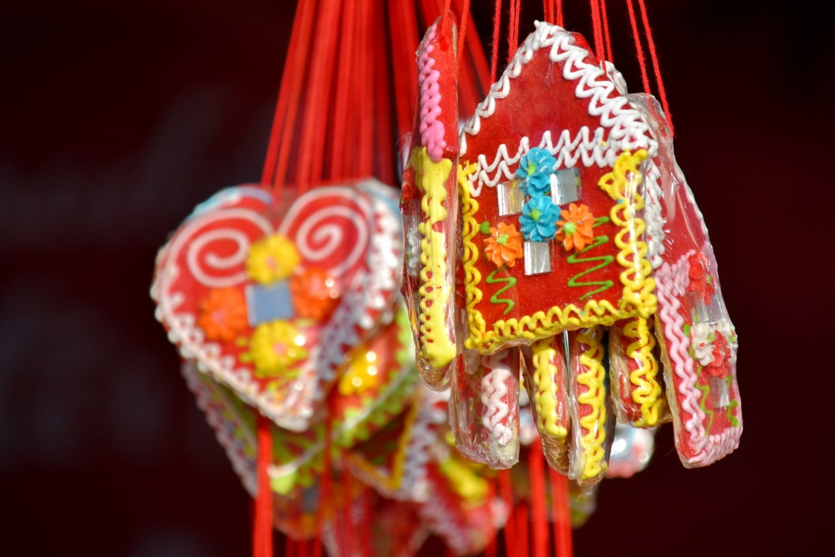 candy, delicious, gifts, handmade, homemade, rope, sweet, traditional, hanging, decoration
