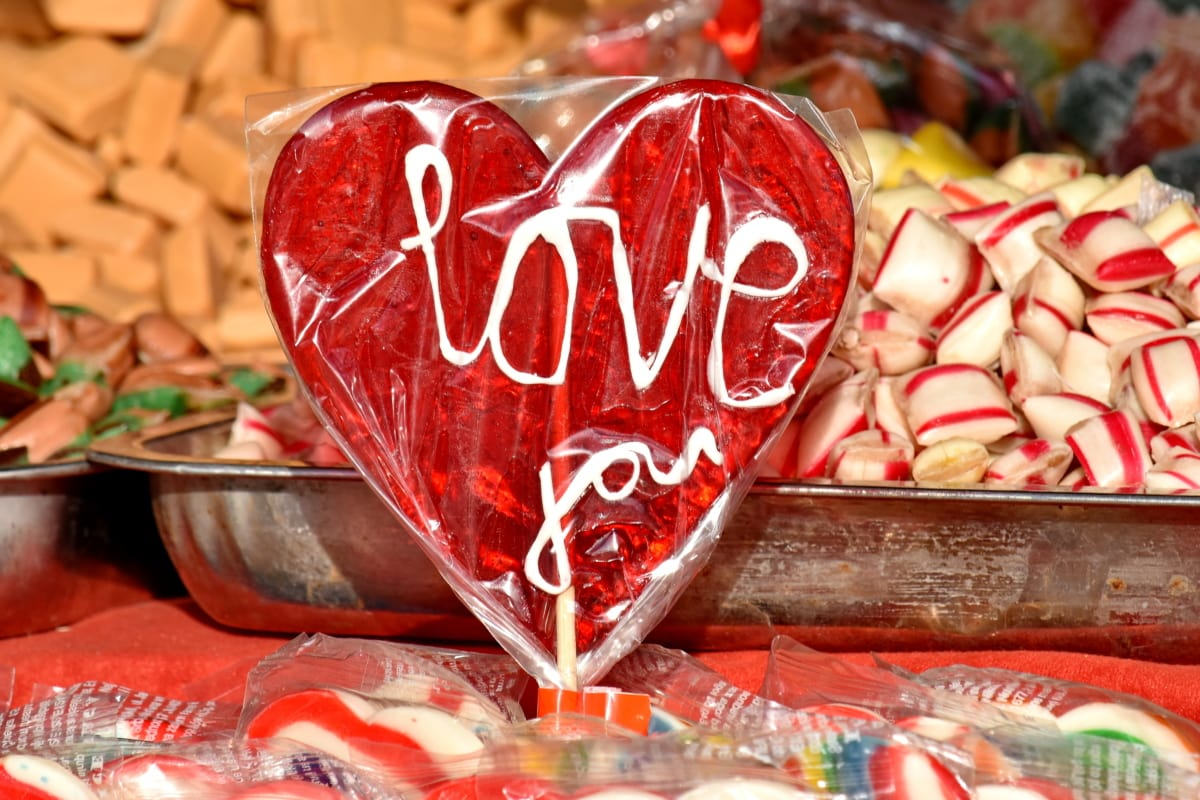 caramella, mestiere, delizioso, fatto a mano, fatti in casa, zucchero, romanza, amore, cuore, tradizionale