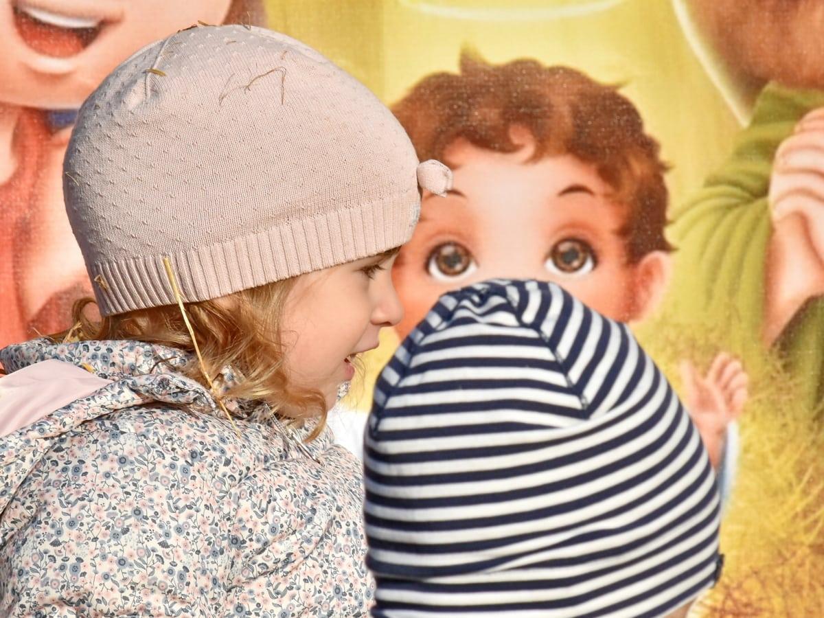 дитинство, портрет, вид збоку, Посмішка, дитина, дитина, матері, дитина, єднання, Симпатичний