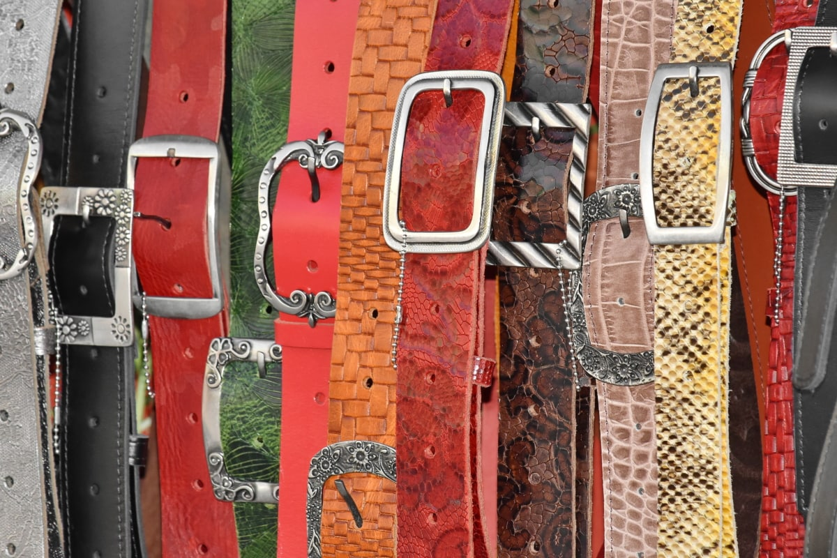 belt, handmade, leather, fastener, latch, catch, old, retro, design, style