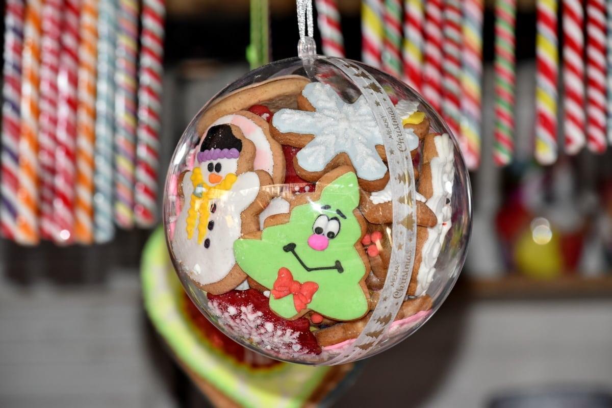 candy, christmas, cookies, gingerbread, food, sugar, chocolate, fun, indoors, celebration