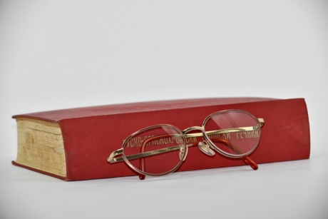 book, classic, knowledge, literature, novel, reading, russian, container, retro, eyeglasses