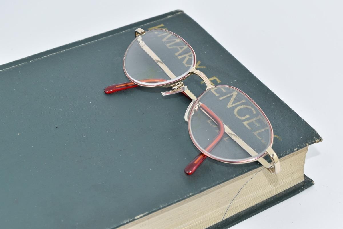 kirja, Englanti, silmälasit, Kirjallisuus, sosialismi, vapaa-aika, koulutus, kilpailu, vapaa-ajan, retro