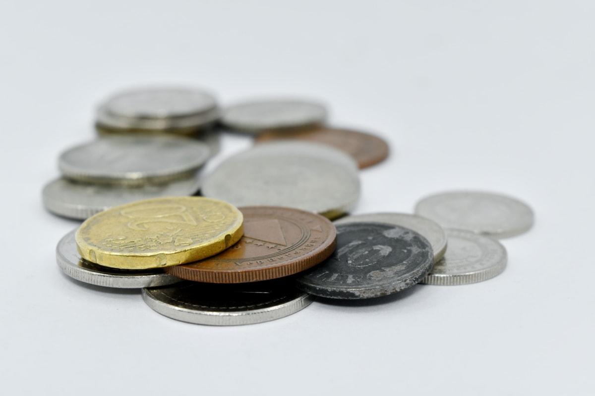 środków pieniężnych, monety, Finanse, pieniądze, biznes, bank, oszczędności, monety, waluty, Martwa natura