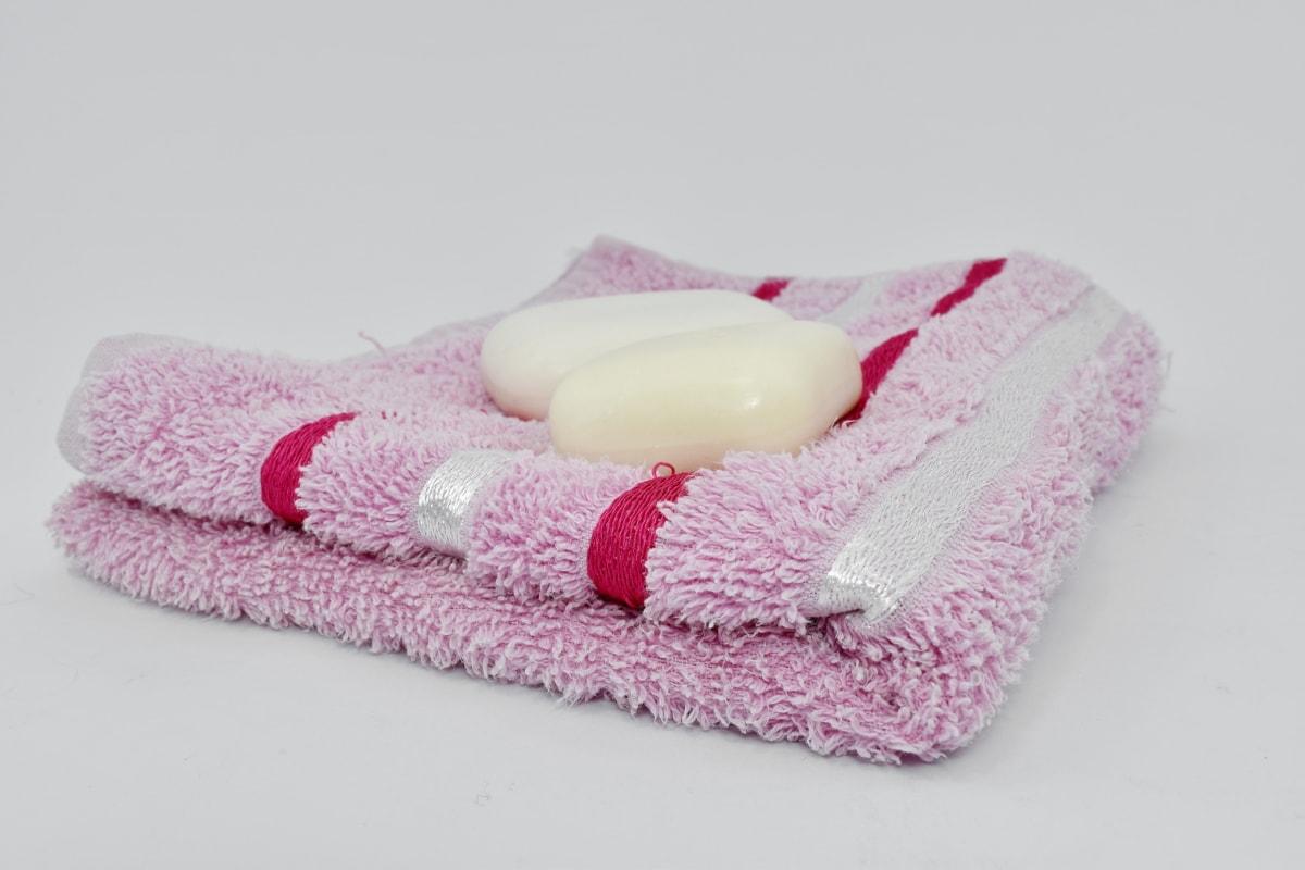 ผ้าฝ้าย, สุขอนามัย, สีชมพู, ผ้าขนหนู, ห้องน้ำ, อ่างอาบน้ำ, สบู่, การดูแล, หัวใจ, น้ำมันหอมระเหย