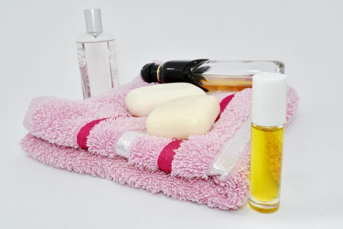 Aromaterapi, hygiejne, olie, sæbe, Wellness, luksus, håndklæde, pleje, behandling, terapi