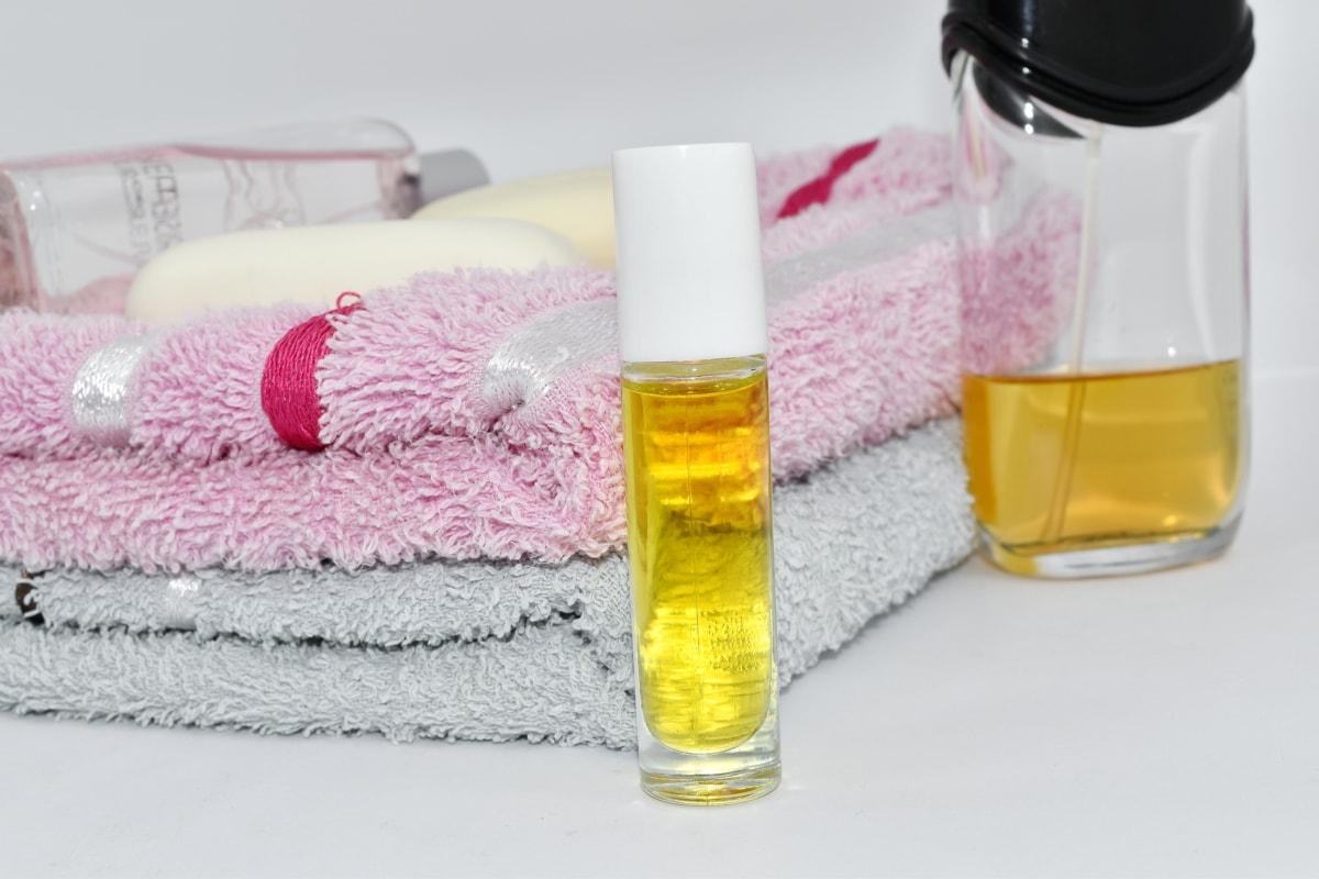 Aromatherapie, aromatische, Lotion, Öl, Handtuch, Wellness, SOAP, Pflege, Behandlung, Bad
