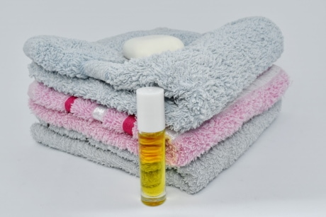 aromatherapy, hygiene, oil, soap, wellness, treatment, bathroom, towel, care, wash