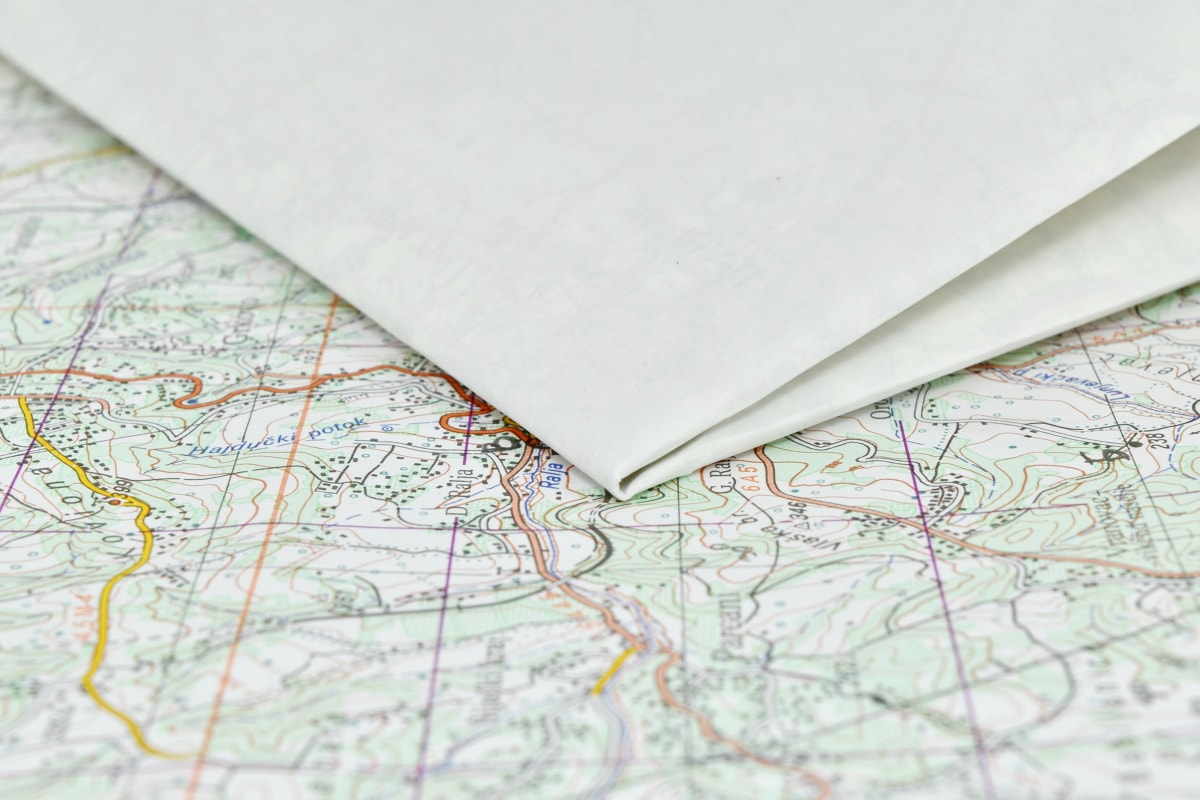 geography, location, map, paper, document, graph, atlas, print, page, text