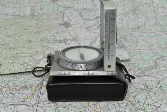 compass, detail, distance, location, navigation, north side, old, tool, device, measure
