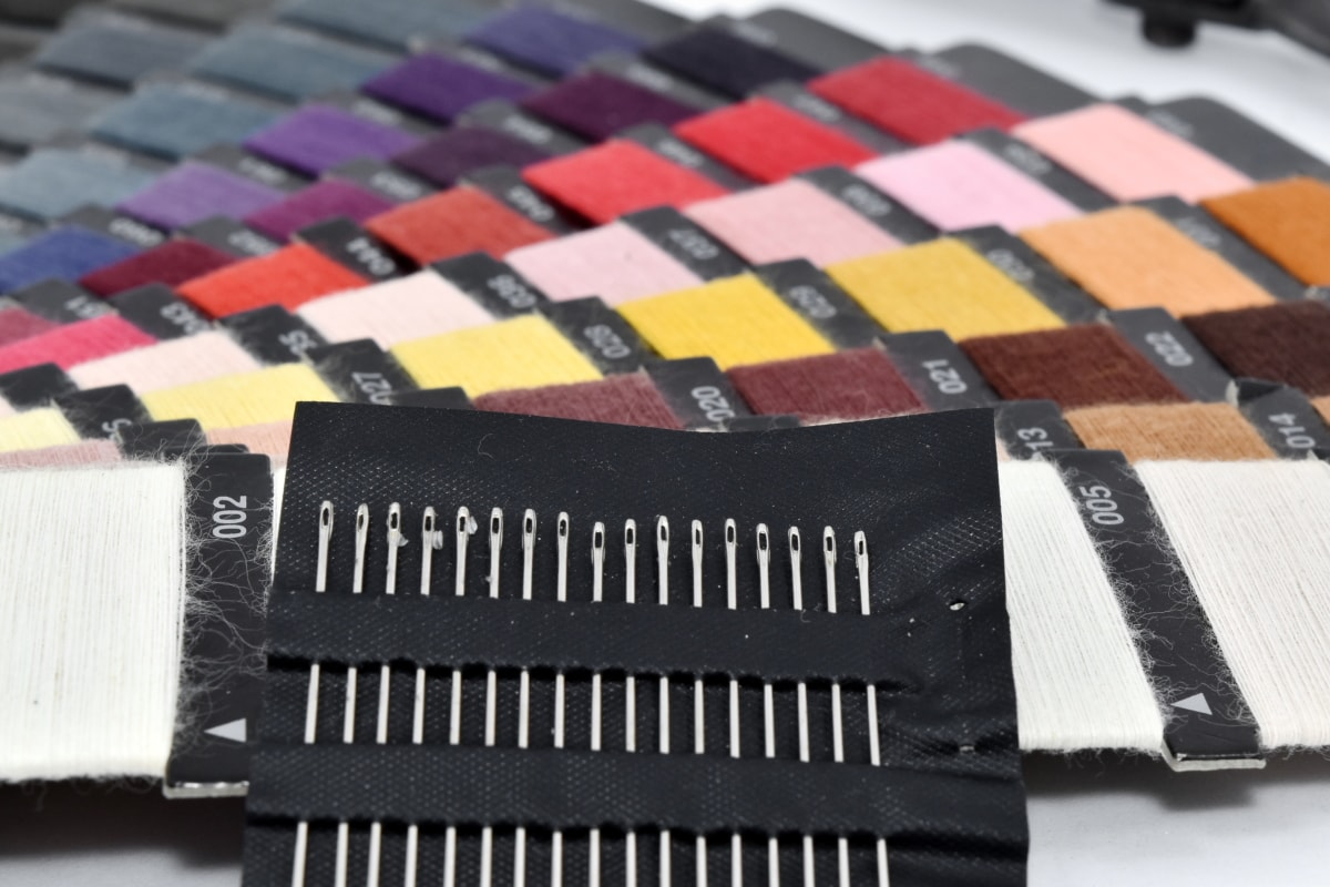 craft, sewing needle, tailoring, business, fashion, industry, equipment, color, colorful, colors