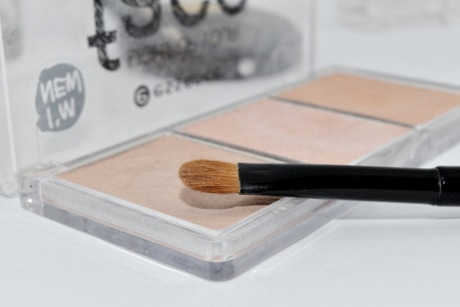 pinkish, powder, toiletry, makeup, brush, cosmetics, fashion, creativity, palette, application