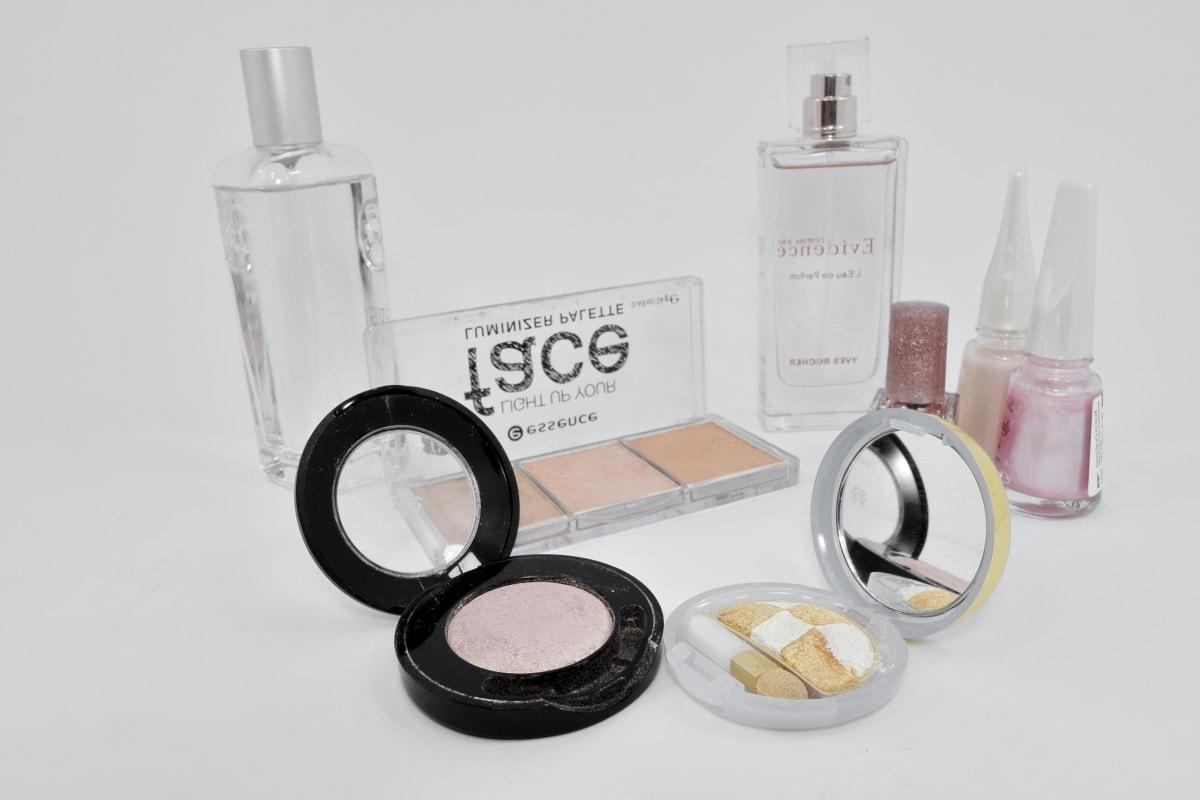 traitement, produit de beauté, trousses de toilette, poudre, maquillage, mode, luxe, charme, brosse, peau