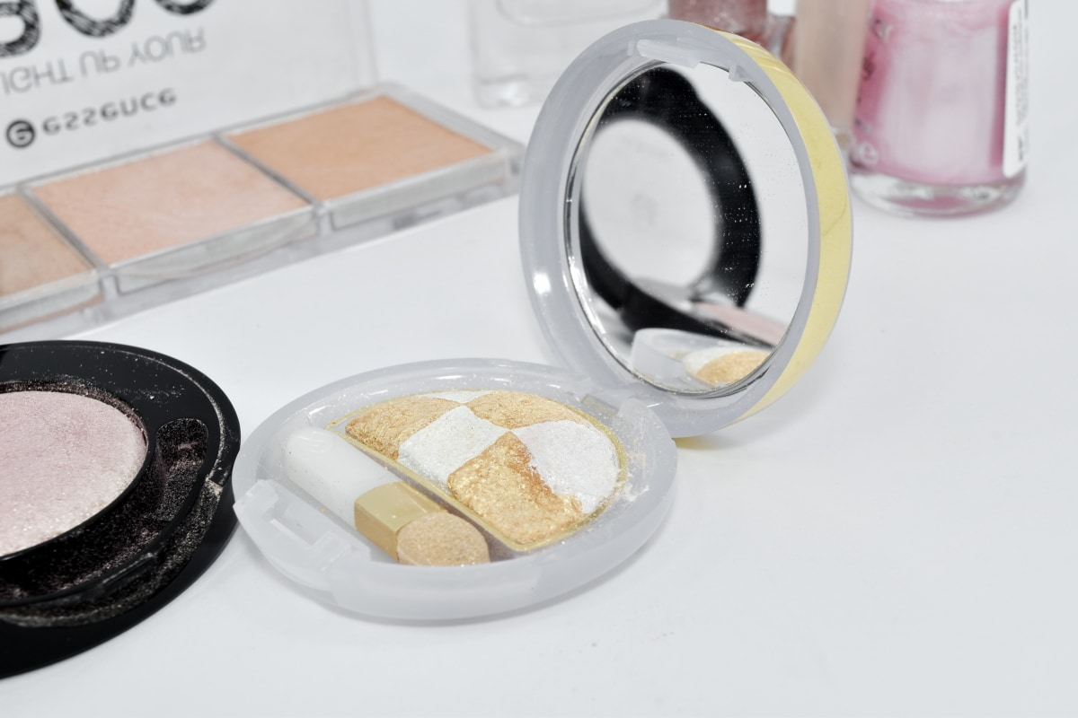 powder, makeup, toiletry, cosmetic, treatment, health, still life, indoors, fashion, glass