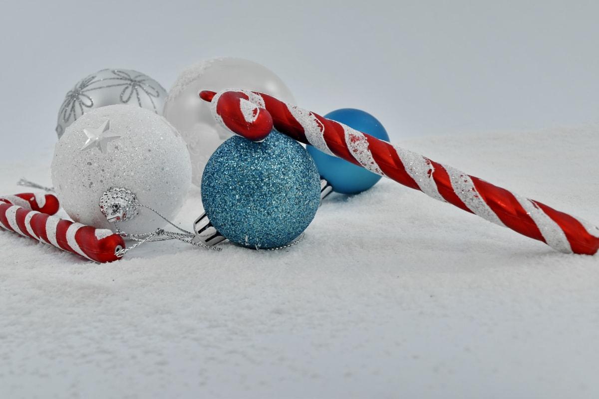 ornament, snowflakes, snow, christmas, winter, celebration, still life, vacation, decoration, toy