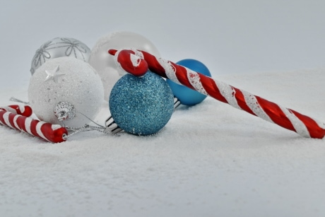 ornament, snowflakes, snow, christmas, winter, celebration, still life, vacation, decoration, toy