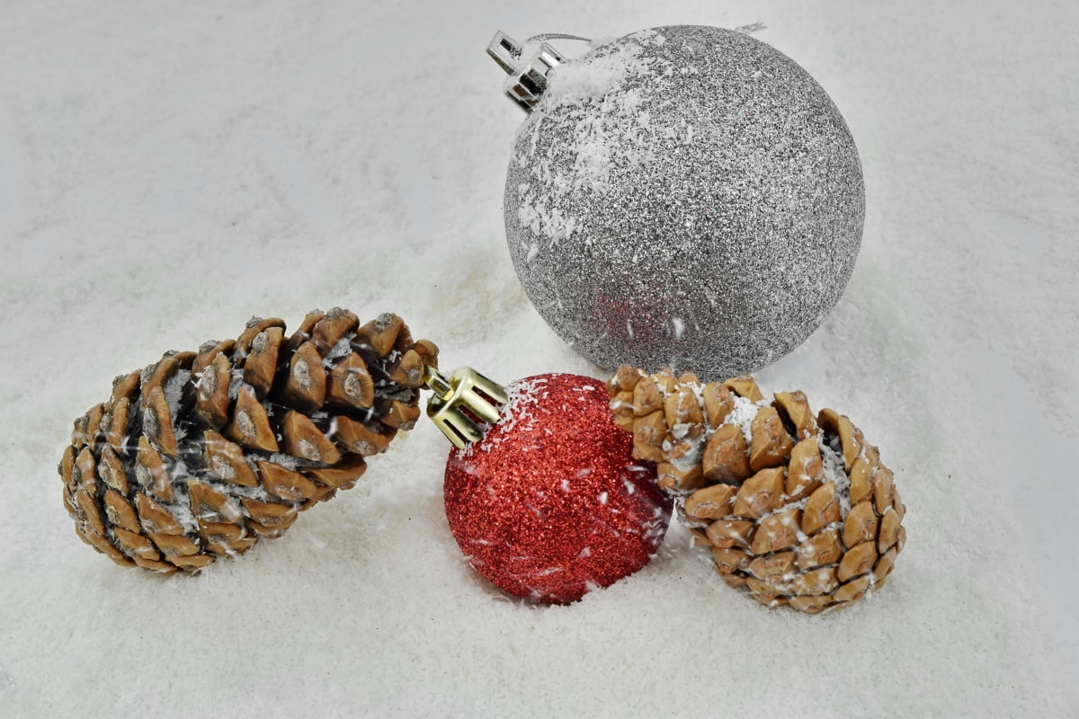 christmas, decoration, ornament, snowstorm, wind, winter, traditional, snow, cone, celebration