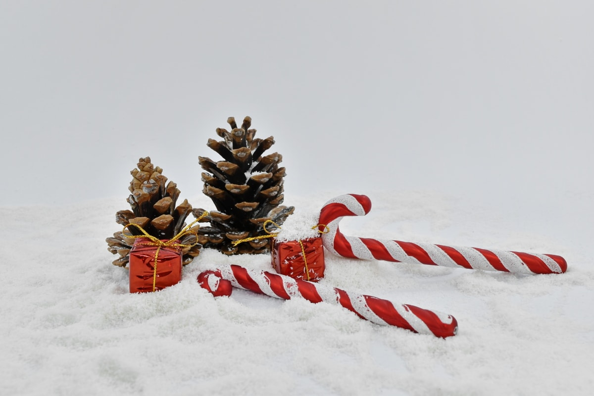 celebration, christian, christianity, christmas, conifers, decoration, gifts, holiday, snow, winter