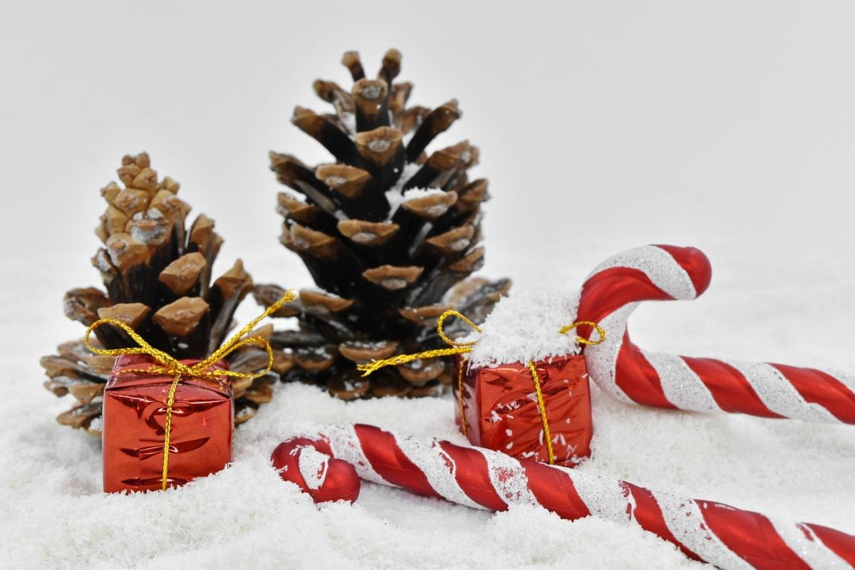 Noël, décoration, période de vacances, Hiver, neige, arbre, célébration, thread, pin, saison