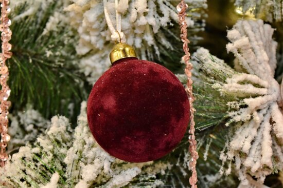 branches, christmas tree, conifer, ornament, snowflakes, soft, hanging, winter, christmas, decoration