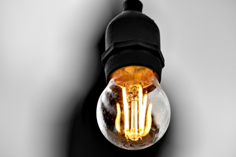 close-up, electricity, transparent, light bulb, bulb, illuminated, glass, bright, energy, invention