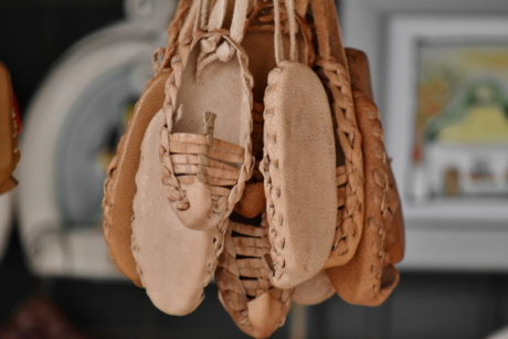 craft, footwear, handmade, leather, memorabilia, shoes, tradition, traditional, art, decoration