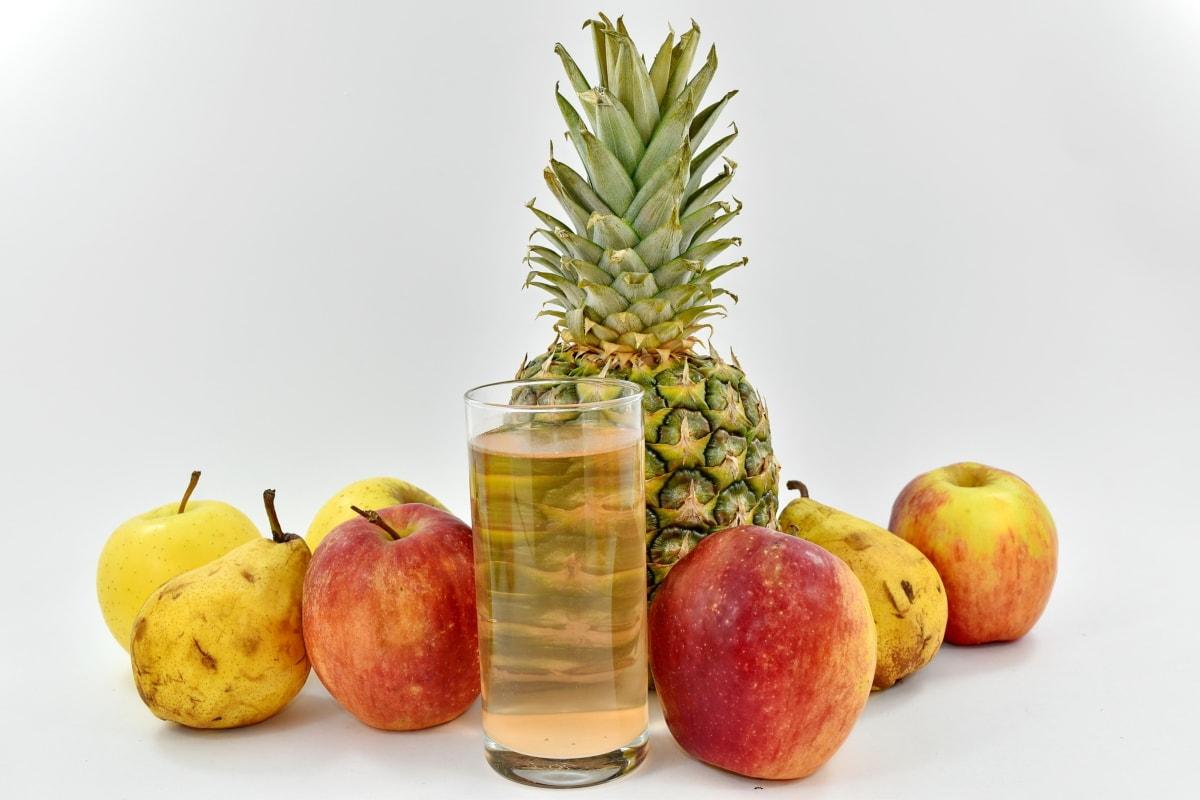 apples, dietary, dietary supplement, fruit cocktail, fruit juice, organic, pears, vitamins, fruit, food
