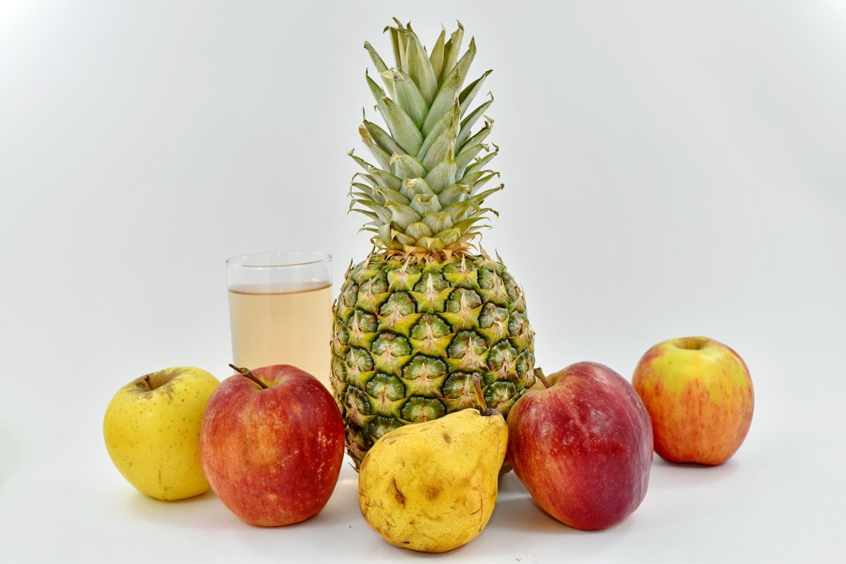 exotic, fruit cocktail, fruit juice, tropical, fruit, pineapple, produce, food, fresh, orange