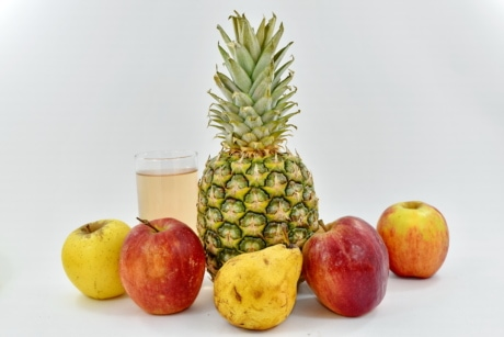exotic, fruit cocktail, fruit juice, tropical, fruit, pineapple, produce, food, fresh, orange