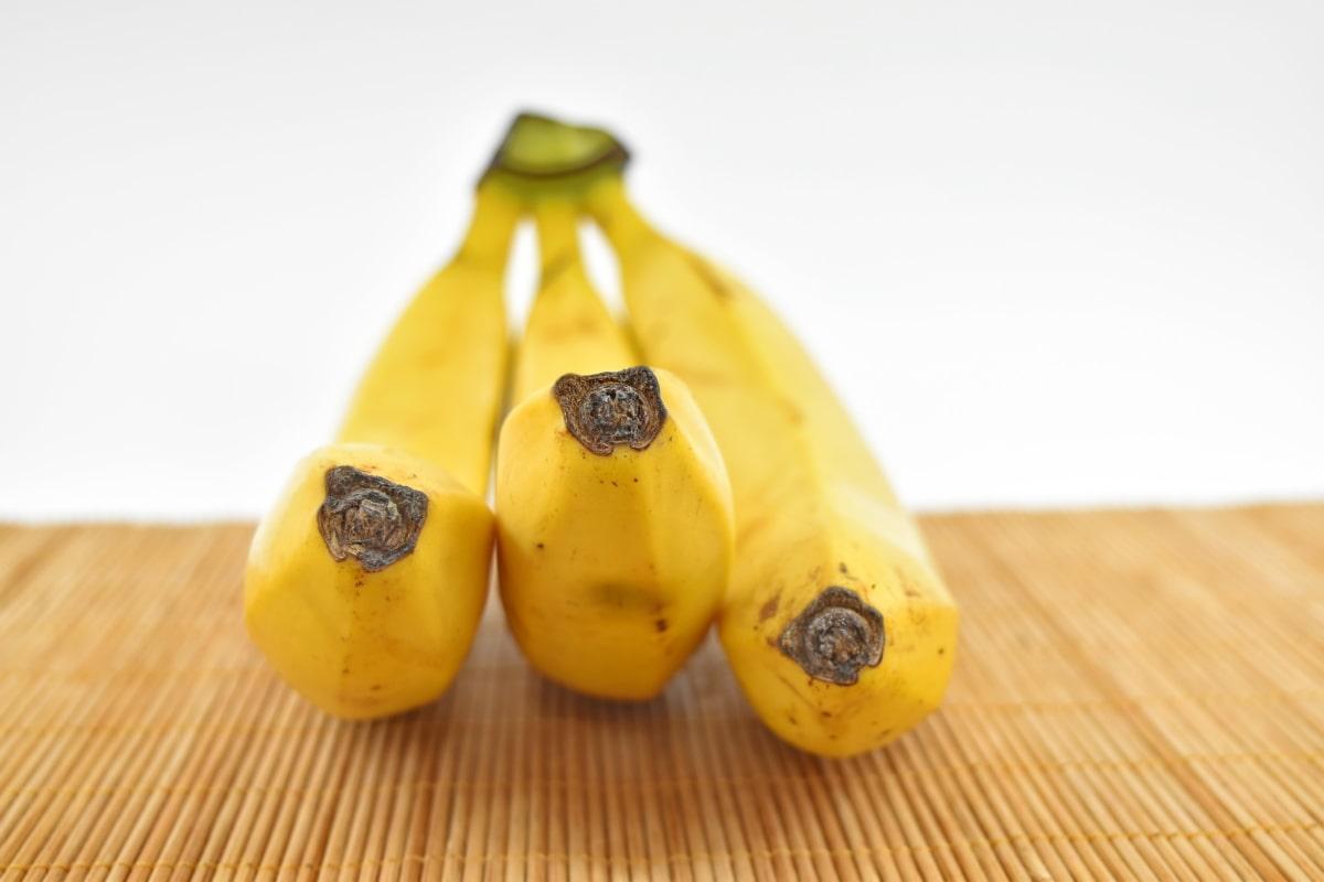 banana, fruit, three, nutrition, tropical, wood, ingredients, nature, vitamin, exotic
