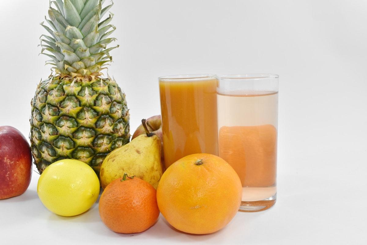orange peel, oranges, pineapple, syrup, citrus, juice, food, orange, produce, fruit